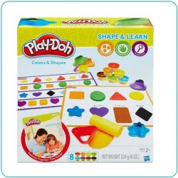 PLAY DOH COLOR AND SHAPE