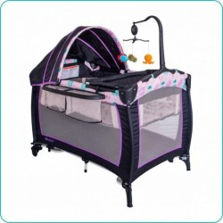CUNA CORRAL LITTLE ANGEL 714-1 VIOLETA