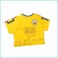 Babero tipo camisa estampado Colombia