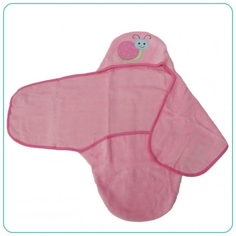 Toalla de ba o para bebe con capota rosada mifanqi - Toalla bano bebe ...