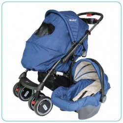 COCHE TRAVEL SYSTEM AZÚL
