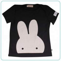 CAMISETA BUNNY BLACK & WHITE