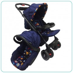 COCHE TRAVEL SYSTEM AZÚL OSCURO