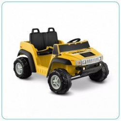 CARRO MONTABLE HUMMER H2 2 SILLAS AMARILLO