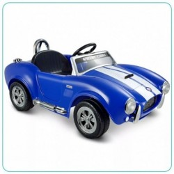 CARRO MONTABLE SHELBY COBRA UNA SILLA - AZUL