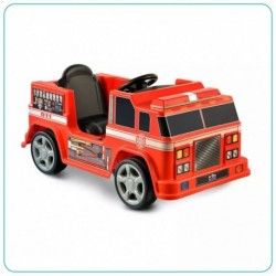 CARRO MONTABLE: FIRE ENGINE UNA SILLA ROJO